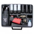 Air Impact Wrench 1356 Nm with sockets