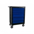 Tool trolley, not equipped, 6 drawers